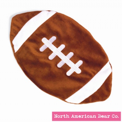 Sports Collection Baby Cozies� Football by North American Bear Co. (3865)