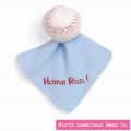 Sports Collection Baseball w/Blanket by North American Bear Co. (3868)