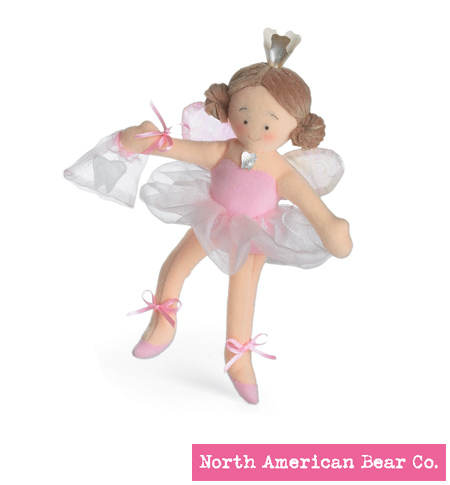 Tooth Fairy Pink by North American Bear Co. (8287-P)