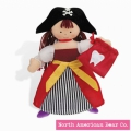 Tooth Pirate Girl by North American Bear Co. (3833)