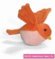 Orange Tweeters Squeaker by North American Bear Co. (8299-O)