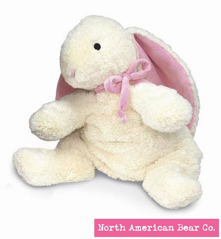 Loppy� Bunny Pink Large by North American Bear Co. (3110)