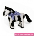 Black & White - Buckaroo Baby Pony by North American Bear Co. (8211-BW)