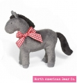 Gray - Buckaroo Baby Pony by North American Bear Co. (8211-G)