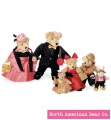VanderBear Family: The Red Carpet Collection by North American Bear Co. (4260) - FREE SHIPPING!