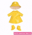 Rosy Cheeks Big Sister Raincoat Set by North American Bear Co. (6131)