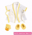 Rosy Cheeks Baby Bathrobe Set by North American Bear Co. (6132)