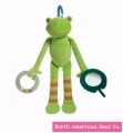 Pond Pets Frog Activity Squeaker by North American Bear Co. (6141)