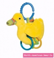 Pond Pets Duck Ring Toy by North American Bear Co. (6145)