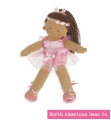 Rosy Cheeks Big Sister Ballerina Tan by North American Bear Co. (3968) - FREE SHIPPING!