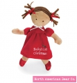 Little Princess Christmas Doll Tan by North American Bear Co. (6165)