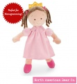 "Little Princess Doll Brunette 16"" by North American Bear Co. (6161) - FREE SHIPPING!"