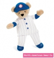 "Baseball Bear 10"" by North American Bear Co. (6186)"