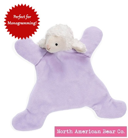 Loppy Lamb Baby Cozy by North American Bear Co. (6200)