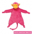 Velveteenie Circus Monkey Knotted Cozy by North American Bear Co. (6207)