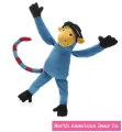 Alex Beard Monkey by North American Bear Co. (323) - FREE SHIPPING!