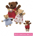 Nesting Puppets - Goldilocks & 3 Bears - by North American Bear Co. (8325) - FREE SHIPPING!