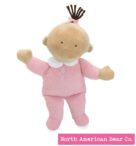 Little Princess Baby Tan by North American Bear Co. (6271)