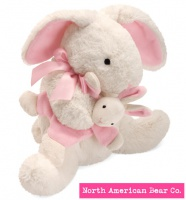 Mammas and Babies Bunny by North American Bear Co. (6255) - FREE SHIPPING!