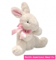 Mammas and Babies Bunny Rattle by North American Bear Co. (6258)