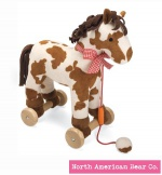 Pull-a-Longs Pony by North American Bear Co. (6285) - FREE SHIPPING!