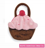 Goody Bag Chocolate Cupcake by North American Bear Co. (6286)