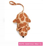 Squeaky Clean Giraffe Print Mouse by North American Bear Co. (6303)