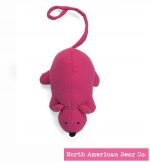 Squeaky Clean Pink Mouse by North American Bear Co. (6298)