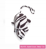 Squeaky Clean Zebra Print Mouse by North American Bear Co. (6302)