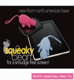 Squeaky Clean (Assorted) Mouse by North American Bear Co. (6302-A)