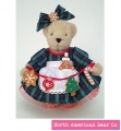 Muffy Vanderbear Cookie Baking Teddy Bear: One Cute Cookie by North American Bear (5851)