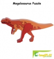 ImagiPLAY Colorific Earth Megalosaurus Puzzle (#10316)