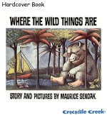 Where the Wild Things Are - Hardcover Book  (8771-2)