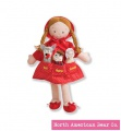 Dolly Pockets Little Red Riding Hood by North American Bear Co. (6588) - FREE SHIPPING!