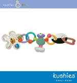 Zolo Kushies Mini Linko Uni - Clip Together Teether & Toys (80036)