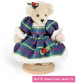 Muffy Vanderbear Mohair Miniature Taffeta by North American Bear Co. (5823) - FREE SHIPPING!