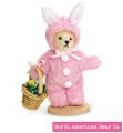 Muffy Vanderbear Mohair Miniature Bunny by North American Bear Co. (5795) - FREE SHIPPING!