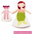 Sophie and Lili - Mermaid Flip Doll by North American Bear Co. (6402) - FREE SHIPPING!