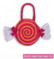 Goody Bag Candy Swirl by North American Bear Co. (6595)