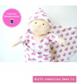 Rosy Cheeks House of Mia Deluxe Baby Set by North American Bear Co. (6620) - FREE SHIPPING!