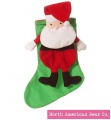 Out of the Bag Santa Stocking by North American Bear Co. (6613)