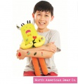 Cutie Tattootie Monster by North American Bear Company (6608) - FREE SHIPPING!