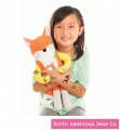 Cutie Tattootie Fox by North American Bear Company (6609) - FREE SHIPPING!