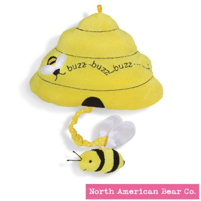 Budding Minds Buzzing Beehive by North American Bear Co. (6310)