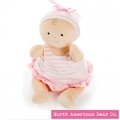 "Rosy Cheeks Baby Girls Ruffles 15"" by North American Bear Co (6674) - FREE SHIPPING!"