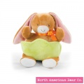 Bunny With Pocket by North American Bear Co (6675)