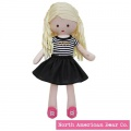 Amy Coe by North American Bear Cotton & Jersey Doll Sunny Blonde (6690) - FREE SHIPPING!