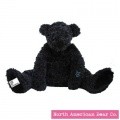 Amy Coe by North American Bear Plush Bear Beau Black (6707) - FREE SHIPPING!