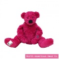Amy Coe by North American Bear Plush Bear Gigi Pink (6709) - FREE SHIPPING!