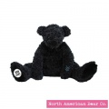 Amy Coe by North American Bear Plush Bear Little Beau Black (6704)
